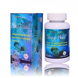 Hỗ trợ ngủ ngon Sleep Well Vitamins For Life, Hộp 60 viên