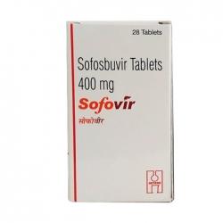 Thuốc Hetero Sofovir 400mg, Hộp 28 viên