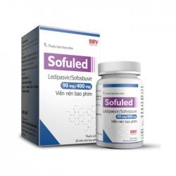 Thuốc trị viêm gan C BRV Sofuled 90mg/400mg, Hộp 28 viên
