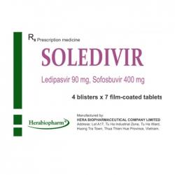Thuốc Soledivir, Hộp 28 viên