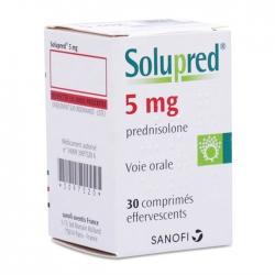 Thuốc Sanofi Solupred 5mg, Chai 30 viên