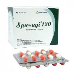Spas-Agi 120mg Agimexpharm 10 vỉ x 10 viên
