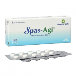 Spas-Agi 40mg Agimexpharm 3 vỉ x 10 viên
