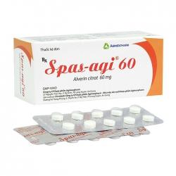 Spas-Agi 60mg Agimexpharm 6 vỉ x 10 viên