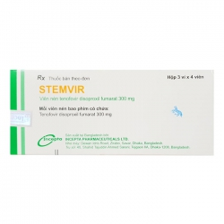 Thuốc Stemvir 300, Tenofovir 300mg, Hộp 12 viên