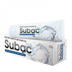 Gel Su bạc giúp làm sạch và sát khuẩn da
