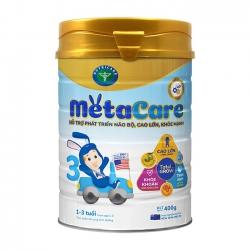 Sữa bột Nutricare Metacare 3 phát triển toàn diện cho trẻ 1-3 tuổi, 400g