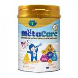 Sữa bột Nutricare Metacare 4 phát triển toàn diện cho trẻ 3-6 tuổi, 400g