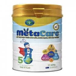Sữa bột Nutricare Metacare 5 phát triển toàn diện cho trẻ trên 6 tuổi, 400g