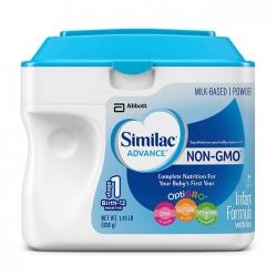 Sữa bột Similac Advance Non GMO dành cho bé từ 0-12 tháng
