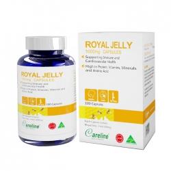 Sữa ong chúa Careline Royal Jelly, Chai 100 viên