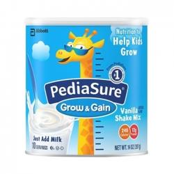 Sữa Pediasure Shake Mix hương Vanilla - 397gr