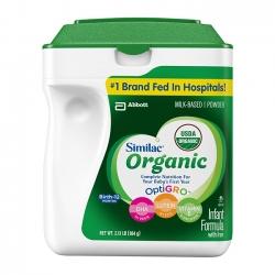 Sữa Similac Advance Organic dành cho bé từ 0-12 tháng