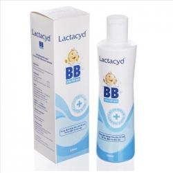 Sữa tắm cho bé Lactacyd BB làm sạch rôm sảy, Chai 250ml