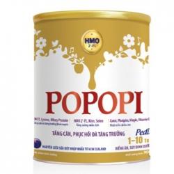 Sữa tăng cân phục hồi tăng trưởng Popopi Pedia 900g