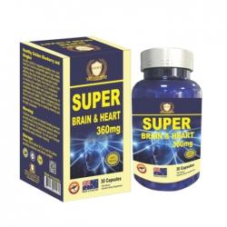Super Brain & Heart 360mg Healthy Golden 30 viên - Viên uống bổ não