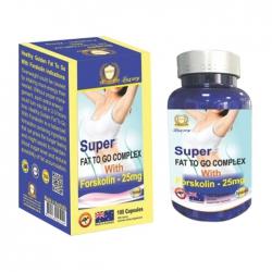 Super Fat To Go Complex With Forskolin 25mg Healthy Golden 100 viên - Viên uống giảm cân
