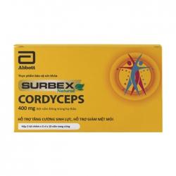 Surbex Natural Cordyceps 400mg Abbott 100 viên
