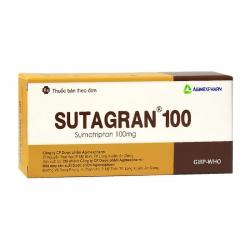 Sutagran 100 Agimexpharm 2 vỉ x 6 viên