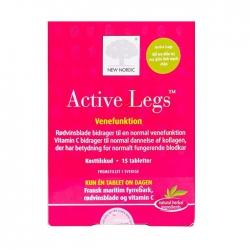 Suy giảm tĩnh mạch chân New Nordic Active Legs Hộp 15 viên