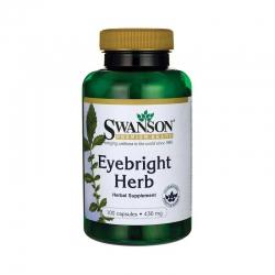 Swanson Eyebright Herb tăng cường thị lực, Chai 100 viên
