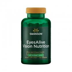 Swanson EyesAlive Vision Nutrition hỗ trợ sức khỏe thị lực, Chai 120 viên