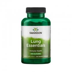 Swanson Lung Essentials hỗ trợ tăng cường hệ miễn dịch, Chai 120 viên