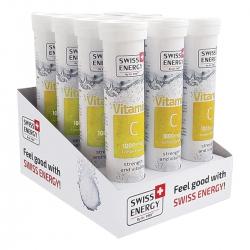 Thực Phẩm Bảo Vệ Sức Khoẻ Viên Sủi Swiss Energy Vitamin C (20 Viên/ Lọ)