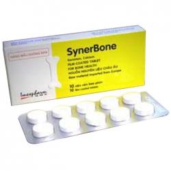 Thuốc Imexpharm Synerbone, Hộp 4 viên