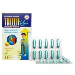 Taller Plus Hỗ Trợ Phát Triển Chiều Cao Trẻ Em | Hộp 6 vỉ x 10 viên