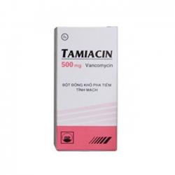 TAMIACIN 500mg - Vancomycin 500mg
