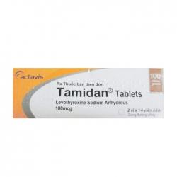 Tamidan Tablets 100mcg Actavis 2 vỉ x 14 viên