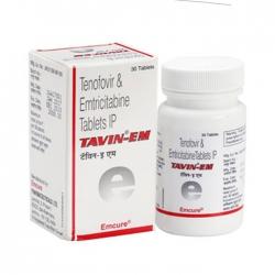 Thuốc Emcure Tavin Em 300mg/200mg, Hộp 30 viên