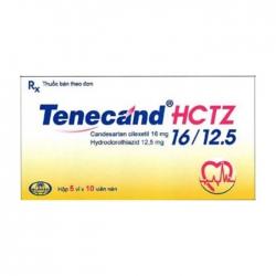 Tenecand HCTZ 16/12.5 Glomed 5 vỉ x 10 viên