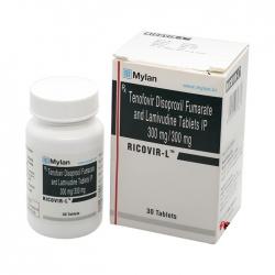 Thuốc Mylan Ricovir L 300mg/300mg, Hộp 30 viên