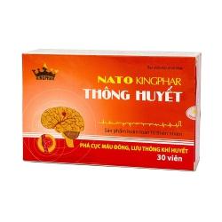 Thông Huyết Nato Kingphar, Hộp 30 viên