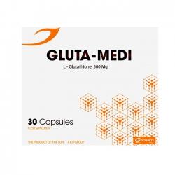 Thực phẩm bảo vệ sức khỏe Medisun Gluta Medi, Hộp 30 viên