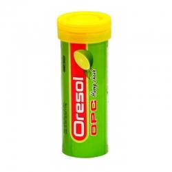 Thực phẩm bảo vệ sức khỏe OPC Oresol hương chanh, Tube 10 viên