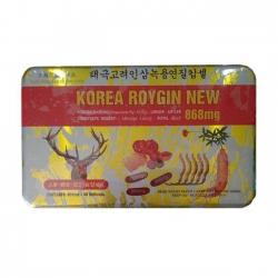 Thực phẩm tăng cường sức khỏe Korean Roygin New 868mg, Hộp 60 viên