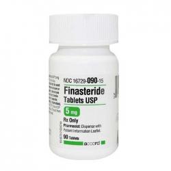Thuốc Accord Finasteride Tablets USP 5mg, Chai 90 viên