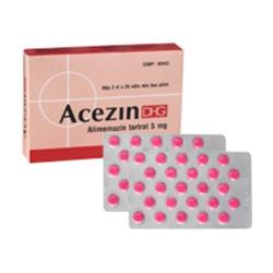 Thuốc Acezin 5 DHG | Hộp 2 vỉ x 25 viên