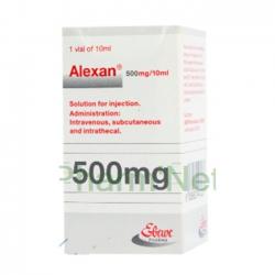 Thuốc Alexan 500mg/10ml, Hộp 10 lọ