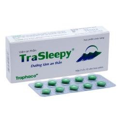 Thuốc an thần Traphaco TraSleepy, Hộp 20 viên