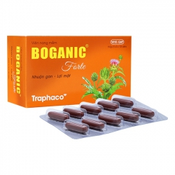 Thuốc bổ gan Traphaco Boganic Forte, Hộp 100 viên