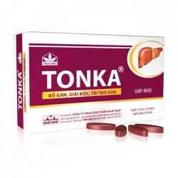Thuốc bổ gan giải độc gan TONKA Nhất Nhất