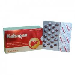 Thuốc bổ gan KAHAGAN Khải Hà | Hộp 100 viên