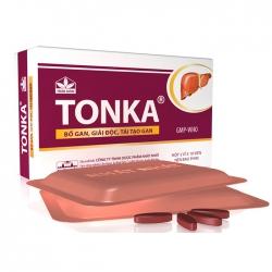 Thuốc bổ gan Nhất Nhất Tonka, Hộp 20 viên
