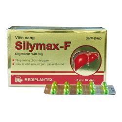 Thuốc bổ gan Silymax-F 140mg | Hộp 6 vỉ x 10 viên