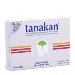 Thuốc bổ não Tanakan, Hộp 30 viên