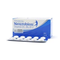 Thuốc bổ Neurobion Vitamin B1, B6, B12, Hộp 5 vỉ x 10 viên